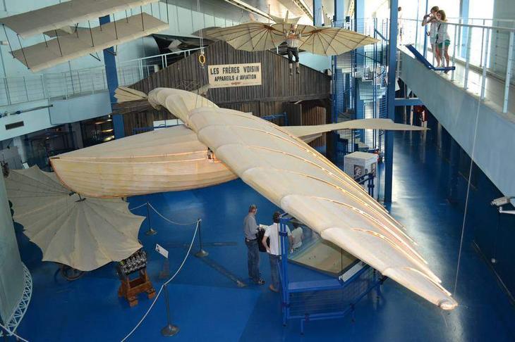 Так представляли себе летательный аппарат будущего в XIX веке – модель в натуральную величину