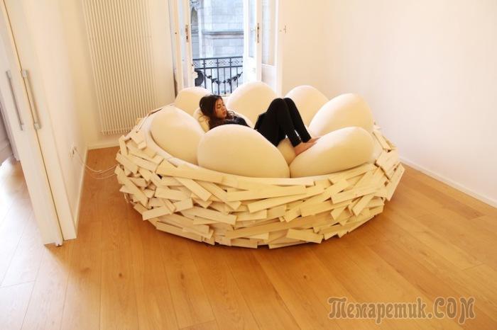 Сумасшедшая мебель: 18 дизайнерский идей, которые поражают воображение
