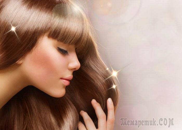 Эфирные масла для блеска волос