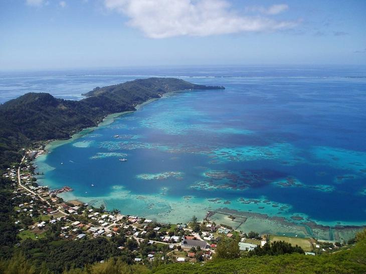 Остров Питкэрн, южная часть Тихого океана круто, переезд, страны, уезжают