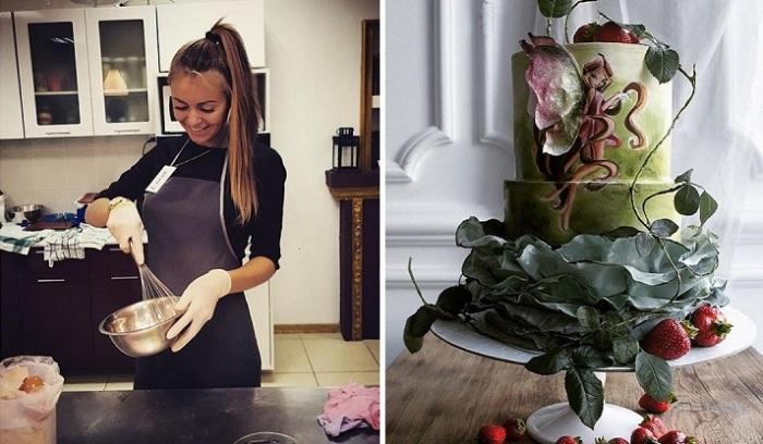 Очаровательная кондитер из Калининграда создала торты, которыми восхищается весь мир