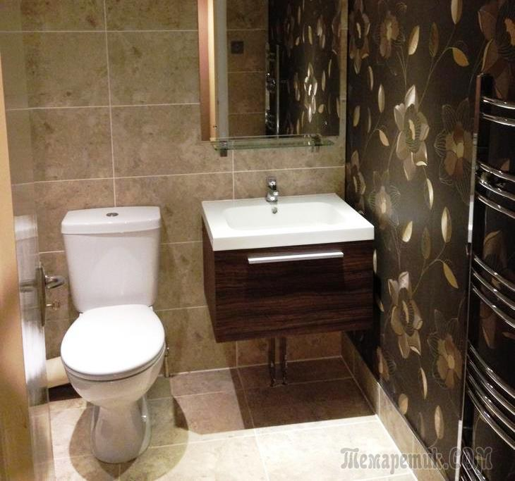 Пошаговый ремонт в ванной комнате