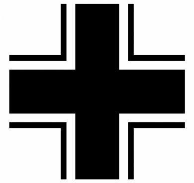 Почему немецкая техника обозначается крестом  Balkenkreuz а не свастикой?