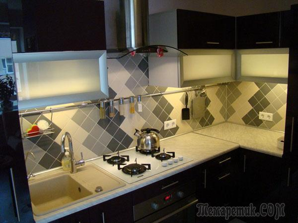 Кухня, которую я делал для себя