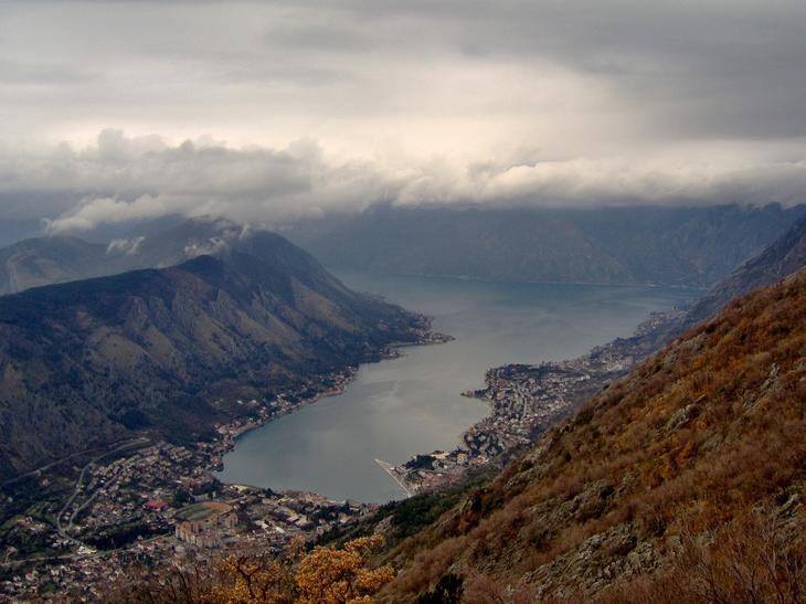 панорама Котора