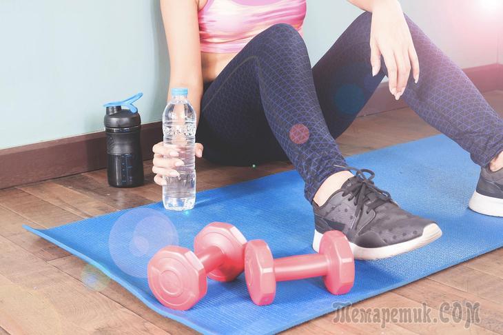 Упражнения с гантелями чтобы похудеть