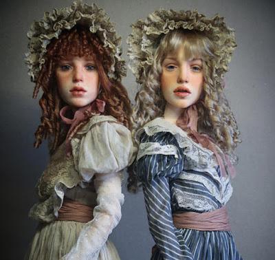 """Российский скульптор создаёт потрясающе реалистичных кукол: """"Как живые..."""""""