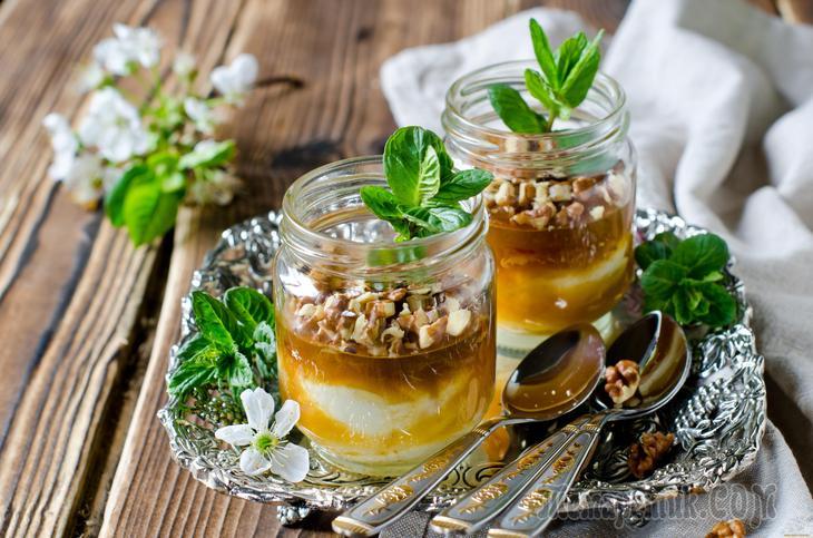 Мед и грецкий орех для чего полезен