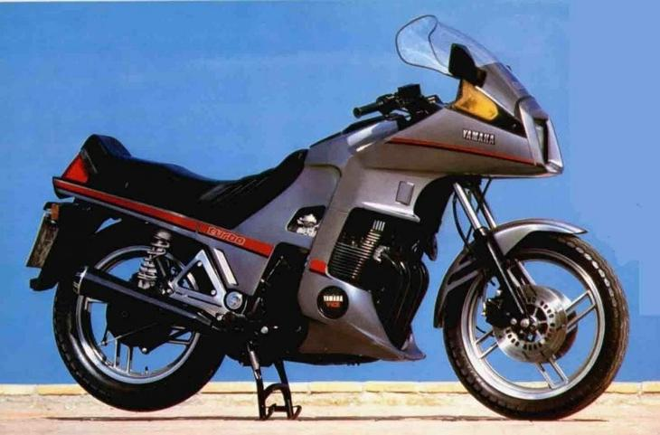 1983 год: Never say never again: Yamaha XJ650 Turbo