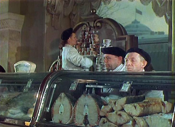 СССР 1954 года в цветных фотографиях