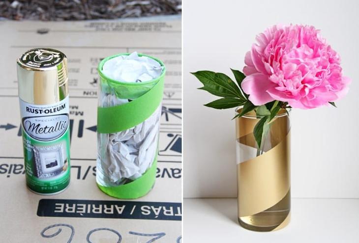 Роспись вазы для цветов своими руками
