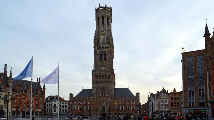 Белфорт - колокольня в Брюгге