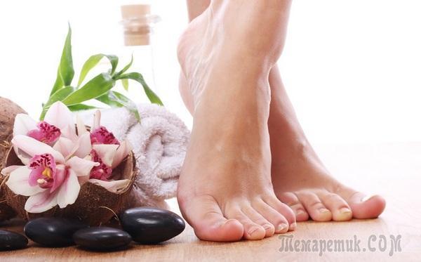 Ванночки для ног от пота