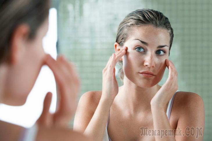 Как убрать гусиные лапки под глазами: способы избавления