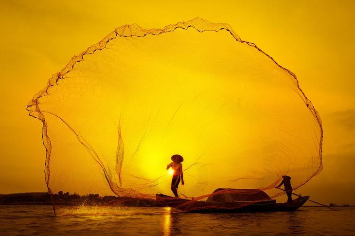 Поймать закат сетью, Вьетнам