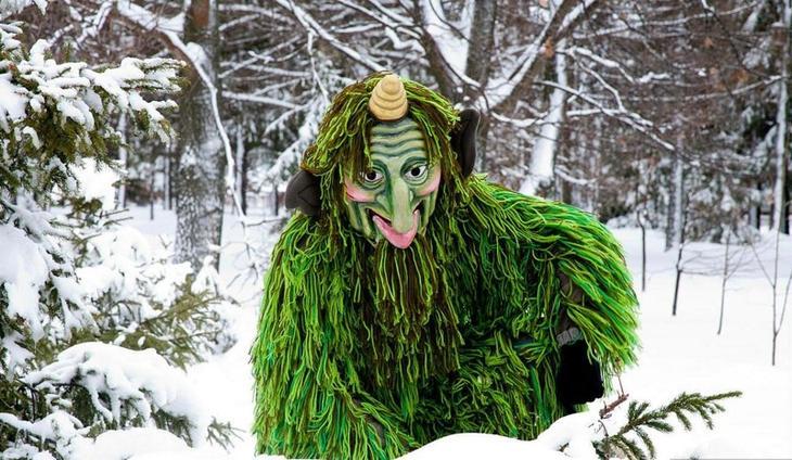 Кыш Бабай(Татарстан) дед мороз, новый год.рождество, санта клаус