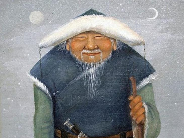 Саган Убугун(Бурятия) дед мороз, новый год.рождество, санта клаус