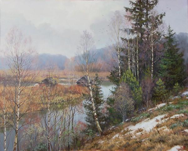 Пейзажи художника Валерия Артамонова