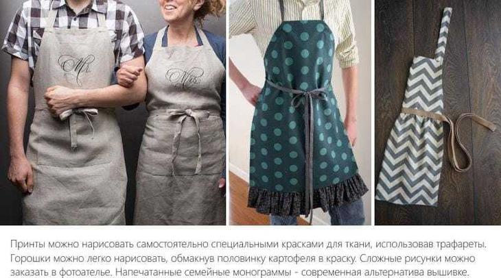 Модные, необычные и современные фартуки на кухню № 6