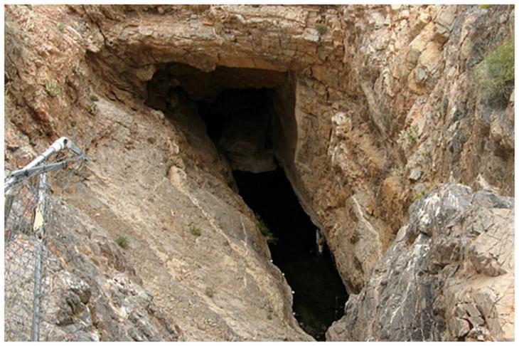 «Дыра дьявола» в Долине Смерти в США Фаты, дыры, земля, интересное, природа, провалы, страшно, удивительное