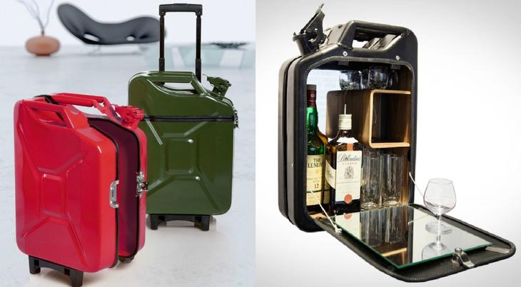 Как сделать чемодан из канистры своими руками