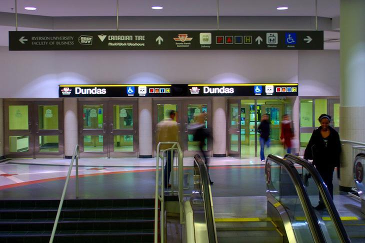 метро Канады