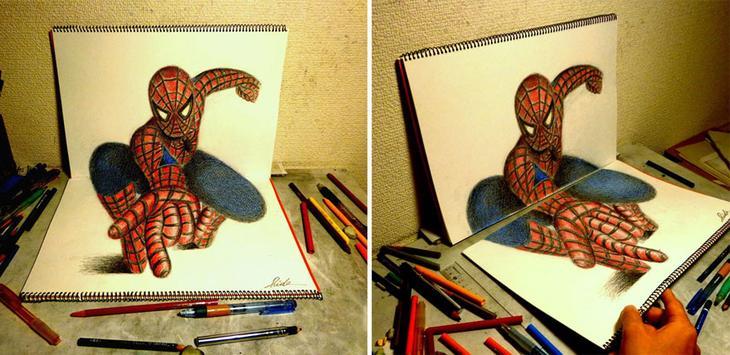 3Ddrawings30 Самые впечатляющие карандашные 3D рисунки от художников со всего света