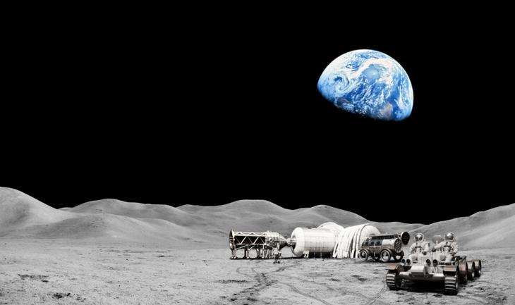 Макет лунного поселения Bigelow Aerospace / © bigelowaerospace.com