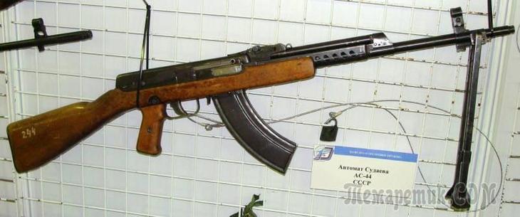 Малоизвестный предшественник АК: автомат Судаева