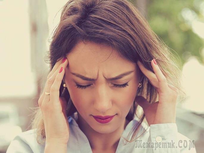 Длительное головокружение при нормальном давлении