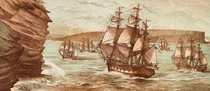 13. Половина первых колонистов – бывшие заключенные австралия, история, колонизация, факт