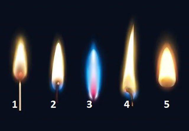 Тест: выберите пламя и узнайте свое будущее