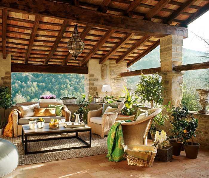 Уютный горный домик в Испании
