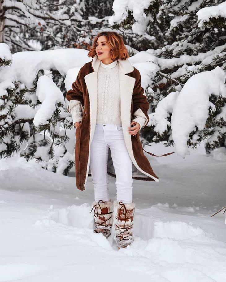 модные луки зимы 2020 для женщин 40-50 лет фото 11
