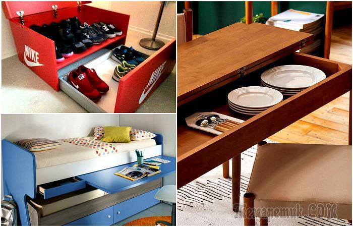 16 предметов мебели, которые легко превратят маленькую квартирку в «умный» дом будущего