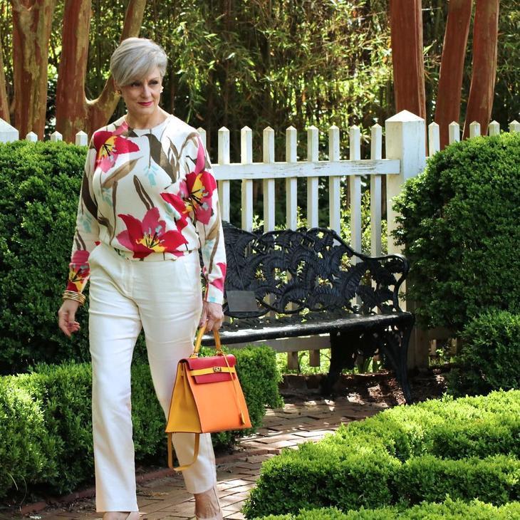 летние брюки и блузка фото 16
