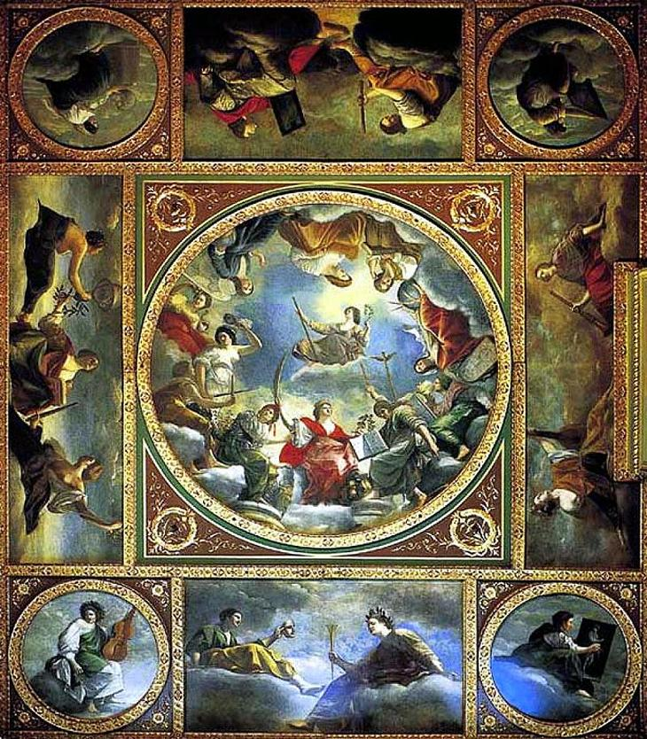 «Аллегория Мира и Искусств под английской короной» (1638-1639)