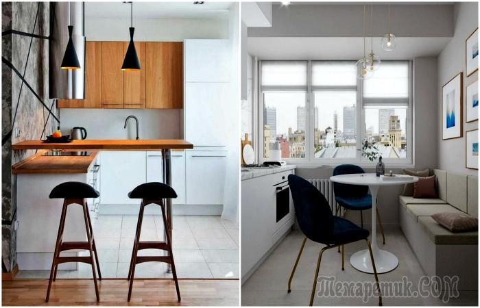 11 стильных идей дизайна маленькой кухни, которые вдохновят на ремонт