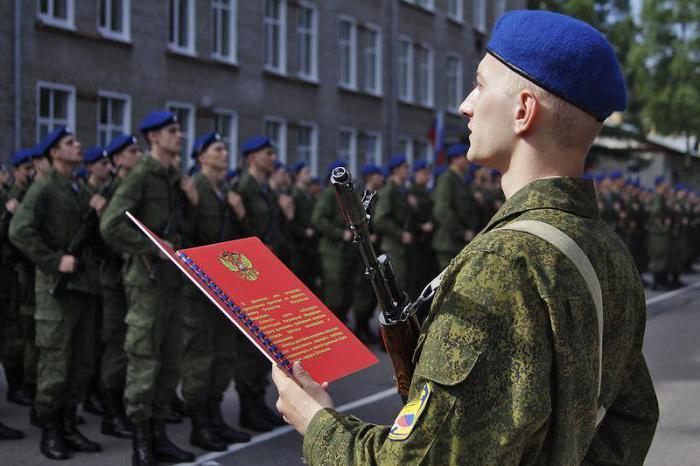 Как проходит принятие присяги солдатами Российской армии