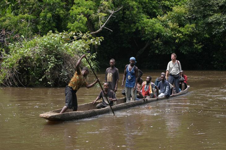 Конго — река в Центральной Африке