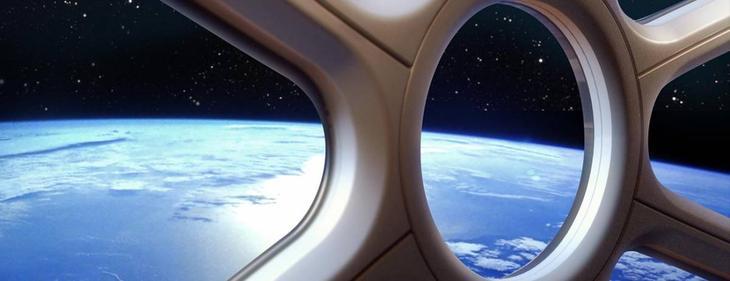 Вид из иллюминатора в стратосфере / ©worldview.space