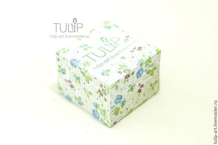 Мастер-класс: как создать подарочную коробочку для кольца, фото № 9