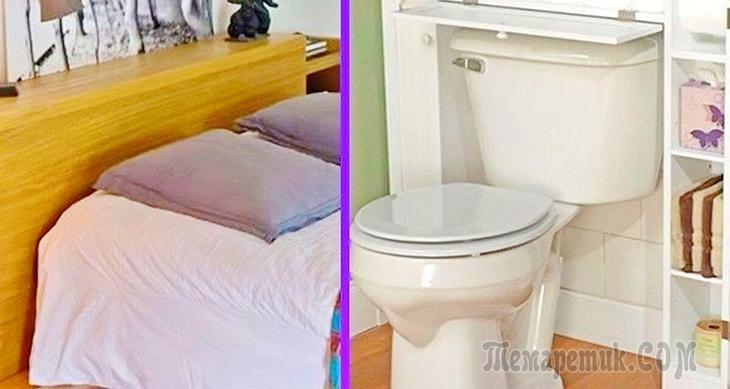Несколько крутых идей, как хранить вещи в квартире
