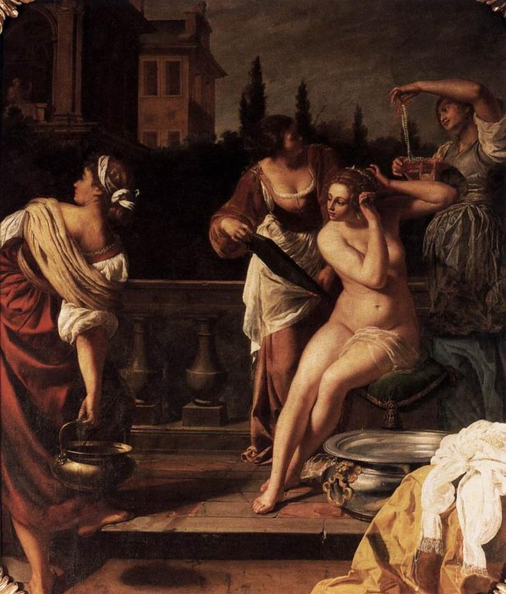 «Купание Вирсавии» (1645-1650)