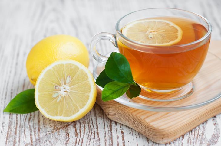 tea lemon honey