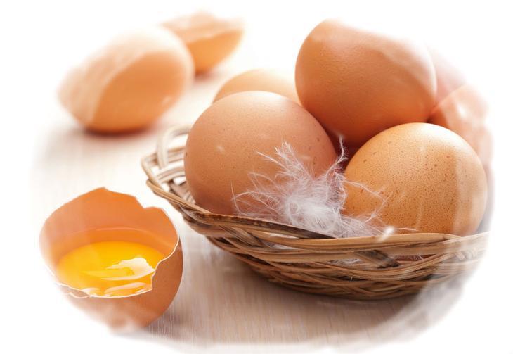 Сонник яйца куриные с кровью