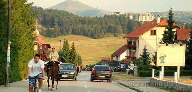 Как любят русских в Сербии. С братьев денег не берём!